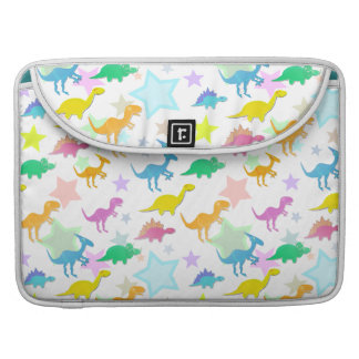 Cute Cartoon Dinosaurs Pattern Macbook Flap Sleeve