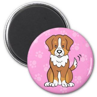 Cute Cartoon Dog Australian Shepherd Magnet