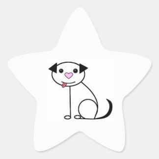Cute cartoon dog stickers