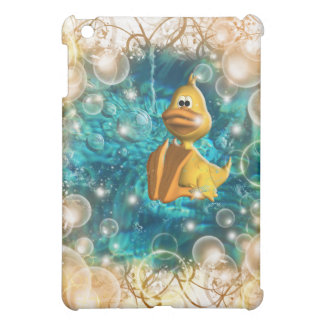 Cute cartoon duck fantasy cover for the iPad mini