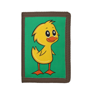 Cute Cartoon Duck Wallet