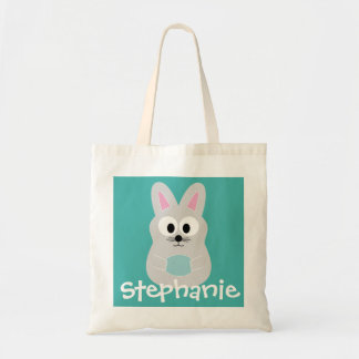Cute Cartoon Easter Bunny with Custom Name