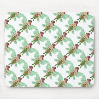 Cute cartoon fairy mouse pad