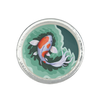 Cute Cartoon Fish Ring
