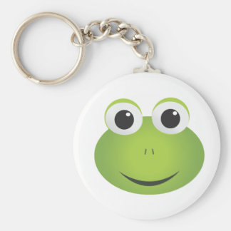 Cute Cartoon Frog Keychain