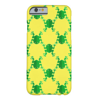 Cute Cartoon Frogs Barely There iPhone 6 Case
