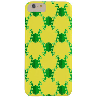 Cute Cartoon Frogs Barely There iPhone 6 Plus Case