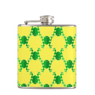 Cute Cartoon Frogs Flasks