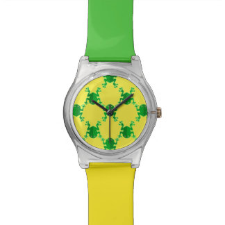 Cute Cartoon Frogs Watches