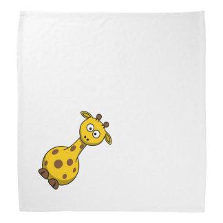 Cute Cartoon Giraffe Bandana