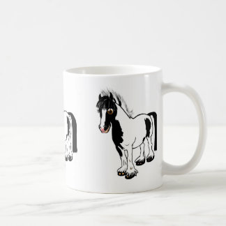 Cute cartoon girl riding horse pony cartoon gifts coffee mug