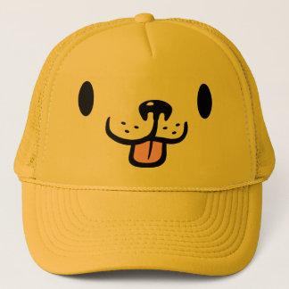 Cute Cartoon Golden Retriever Dog Trucker Hat