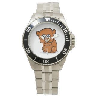 Cute Cartoon Hamster Watch