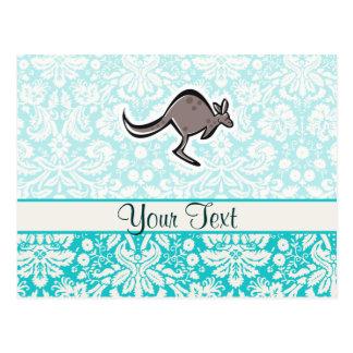 Cute Cartoon Kangaroo Postcard