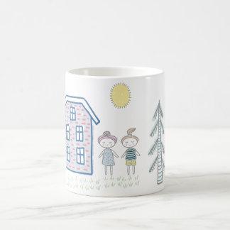 Cute Cartoon Kids Coffee Mug