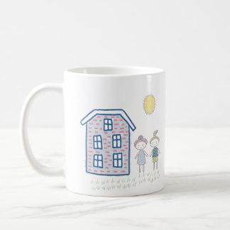 Cute Cartoon Kids Personalized Coffee Mug