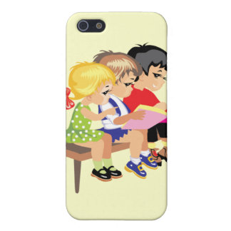 Cute Cartoon Kids Preschool schooling education Cover For iPhone 5