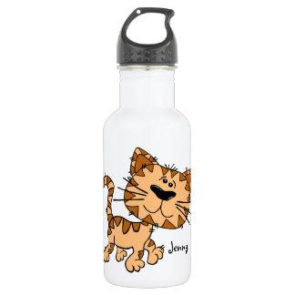 Cute Cartoon Kitty Cat 532 Ml Water Bottle