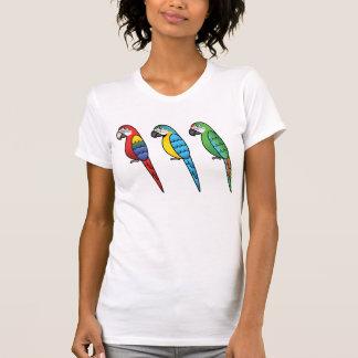 Cute Cartoon Macaw Parrot Birds