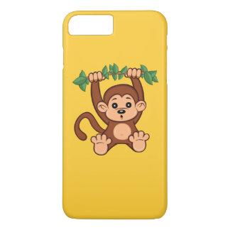Cute Cartoon Monkey iPhone 7 Plus Case