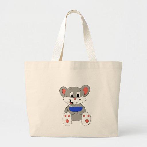 Cute Cartoon Mouse Canvas Bags
