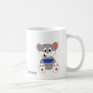 Cute Cartoon Mouse Coffee Mug