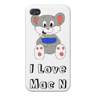 Cute Cartoon Mouse iPhone 4 Covers