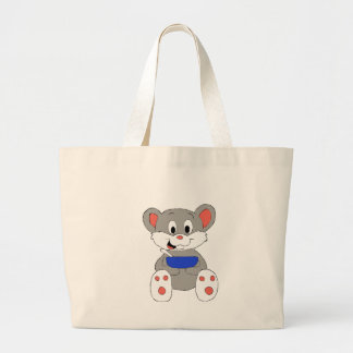Cute Cartoon Mouse Jumbo Tote Bag