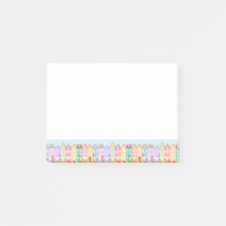 Cute Cartoon Old Town Post-it® Notes