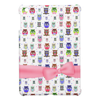 Cute Cartoon Owls iPad Mini Case