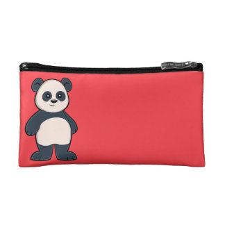 Cute Cartoon Panda Cosmetic Bag