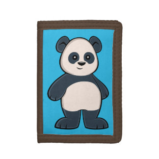 Cute Cartoon Panda Wallet
