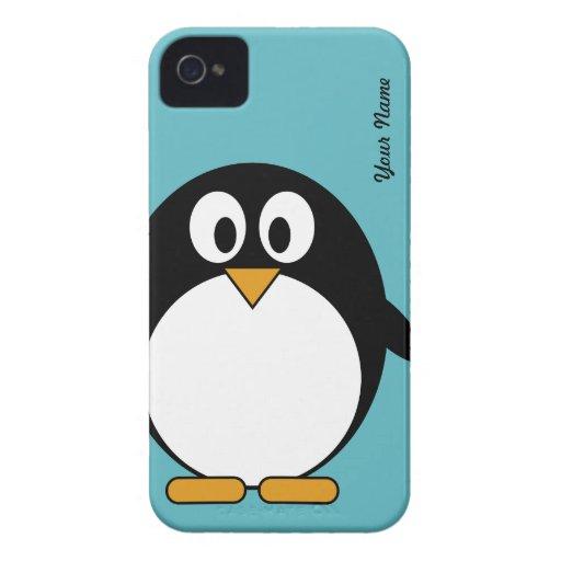 Cute Cartoon Penguin - Blackberry Cover Blackberry Cases