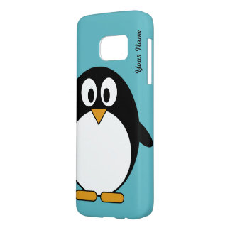 Cute Cartoon Penguin Samsung Galaxy S7 Case
