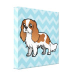 Cute Cartoon Pet Gallery Wrap Canvas