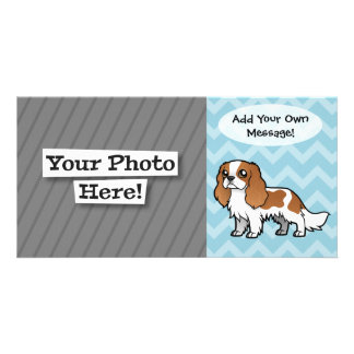 Cute Cartoon Pet Photo Card Template