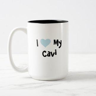 Cute Cartoon Pet Two-Tone Mug