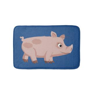 Cute Cartoon Pig Bath Mat