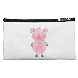 Cute Cartoon Pig Cosmetic Bag