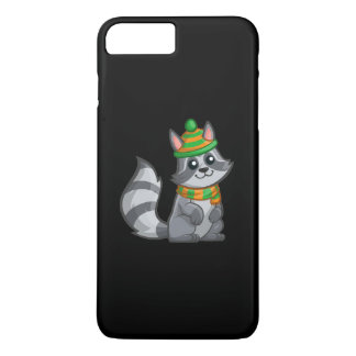 Cute Cartoon Raccoon iPhone 7 Plus Case
