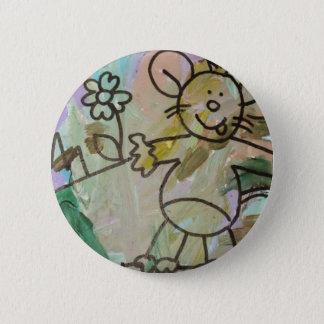 Cute Cartoon Rats 2 Inch Round Button