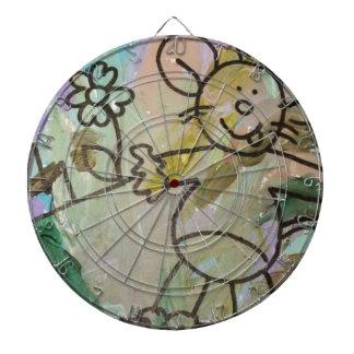 Cute Cartoon Rats Dartboard