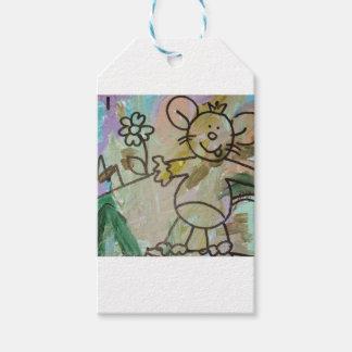 Cute Cartoon Rats Gift Tags
