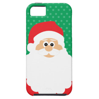 Cute Cartoon Santa iPhone 5 Cases