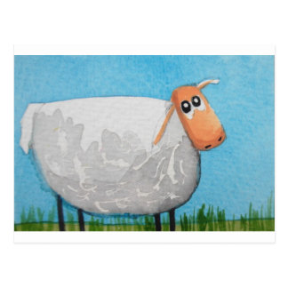Cute cartoon sheep Gordon Bruce art Postcard