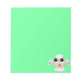 Cute Cartoon Sheep Notepad
