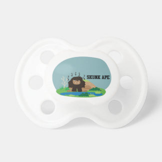 Cute Cartoon Skunk Ape Pacifier