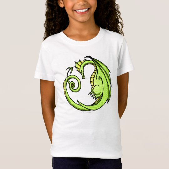 Cute Cartoon Sleepy Dragon tee