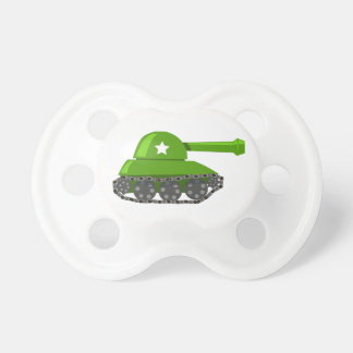 Cute Cartoon Tank Pacifier