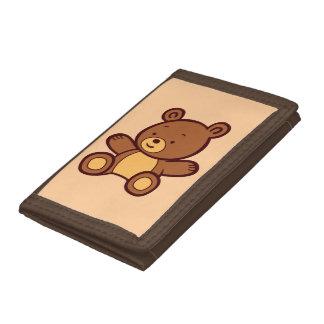 Cute Cartoon Teddy Bear Wallet